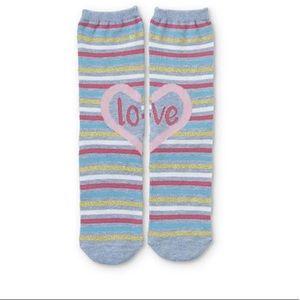 👶5/$25 Girls Crew Love Socks